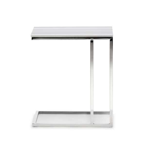 Johnette Side End Table by Orren Ellis