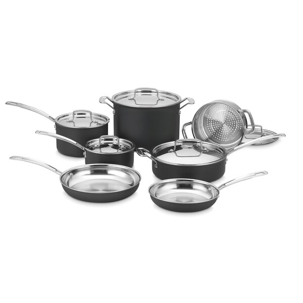MultiClad Unlimited 12-Piece Cookware Set by Cuisinart