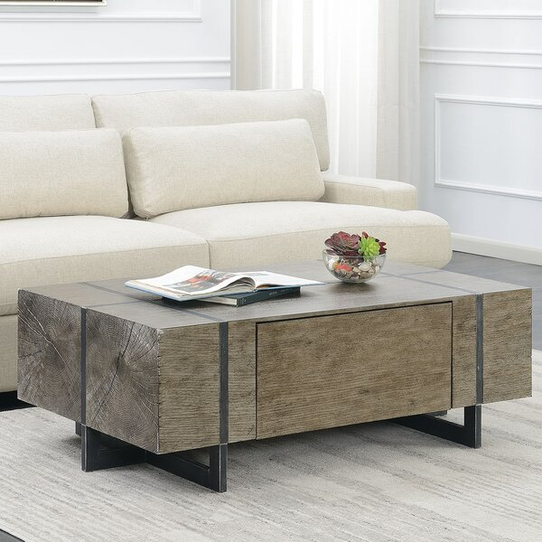 Nieves Coffee Table with Storage by Brayden Studio