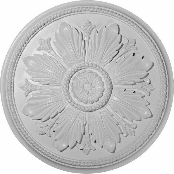 Kaya 1/9H x 23 5/8W x 1 1/2D Ceiling Medallion by Ekena Millwork