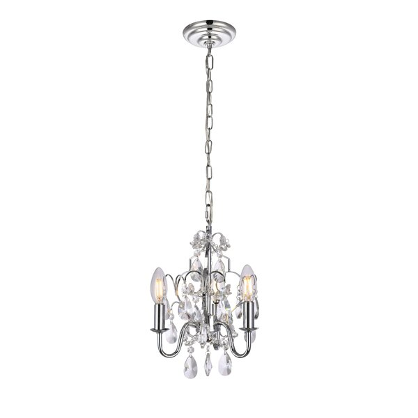 Dagnall 3-Light Candle Style Chandelier by House o