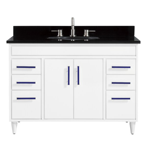 Sterling 48 Single Bathroom Vanity Set by Viv + Rae