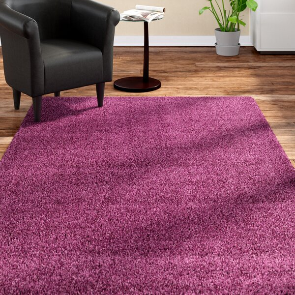 Cabery Purple Area Rug by Andover Mills