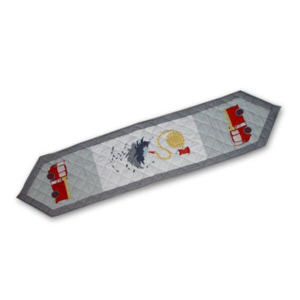 Fire Truck Table Runner by Patch Magic