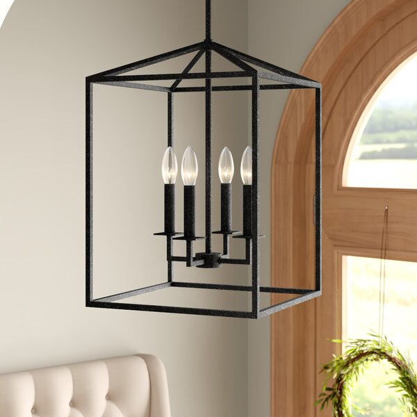 Odie 4-Light Foyer Pendant by Laurel Foundry Moder