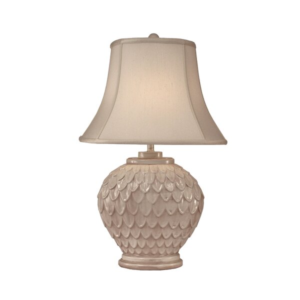 Fairfield Oval Feather 30 Table Lamp by Bay Isle Home