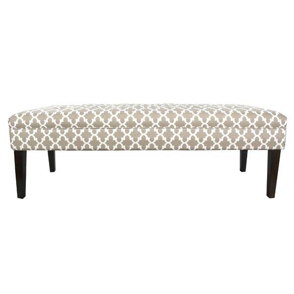 Amora Upholstered Bench by Winston Porter