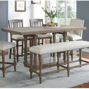 Grey Kitchen & Dining Tables You\'ll Love | Wayfair
