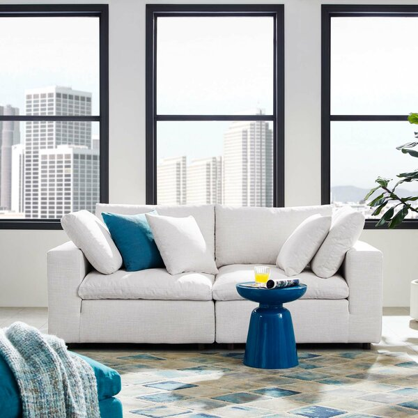 Coats Overstuffed Sectional by Trule Teen