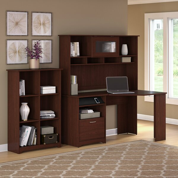 Hillsdale  Desk  with Hutch and 3 Pieces Set