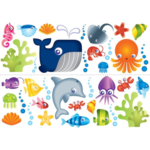 Connor Under the Sea Wall Decal by Viv + Rae