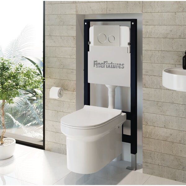 Nebula Concealed 1.6 GPF Toilet Tank by Fine Fixtures