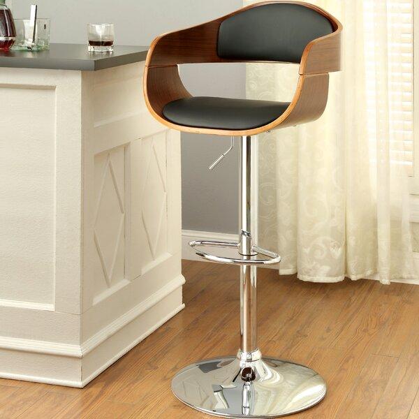 Tyler Adjustable Height Swivel Bar Stool by Hokku Designs Hokku Designs