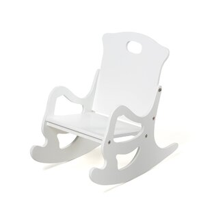 Reviews Single Seat Puzzle Kids Rocking Chair ByGift Mark