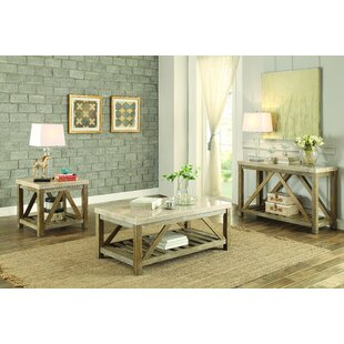 Bellas 3 Piece Coffee Table Set Gracie Oaks Today Only Sale