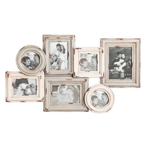 August Grove Multi-Opening Metal Hanging Picture Frame | Wayfair