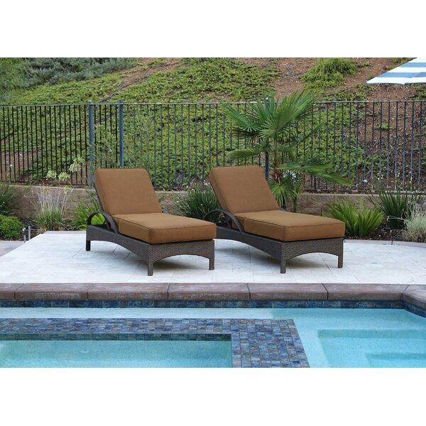 Inglestone Common 2 Piece Sun Lounger Set with Cushion by Brayden Studio