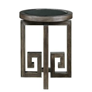 Franny End Table by Bloomsbury Market