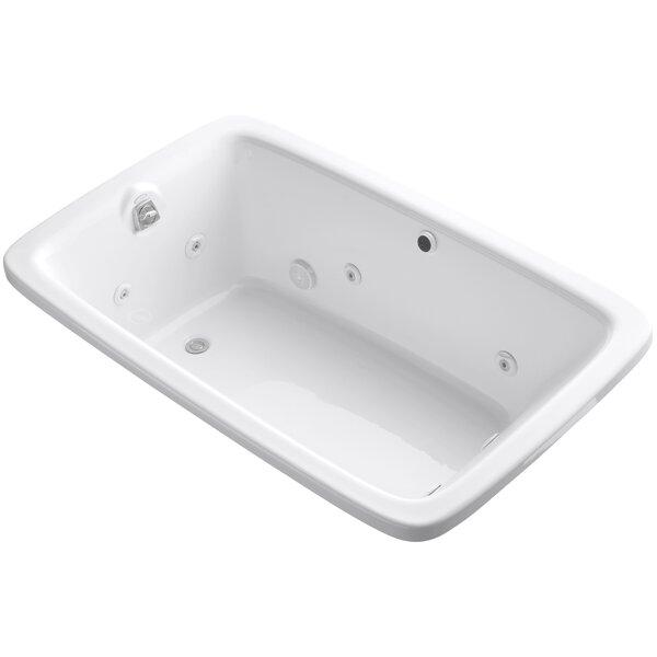 Bancroft 66 x 42 Air / Whirlpool Bathtub by Kohler