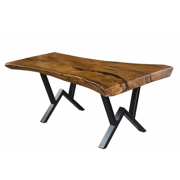 Elaina Solid Wood Dining Table by Foundry Select
