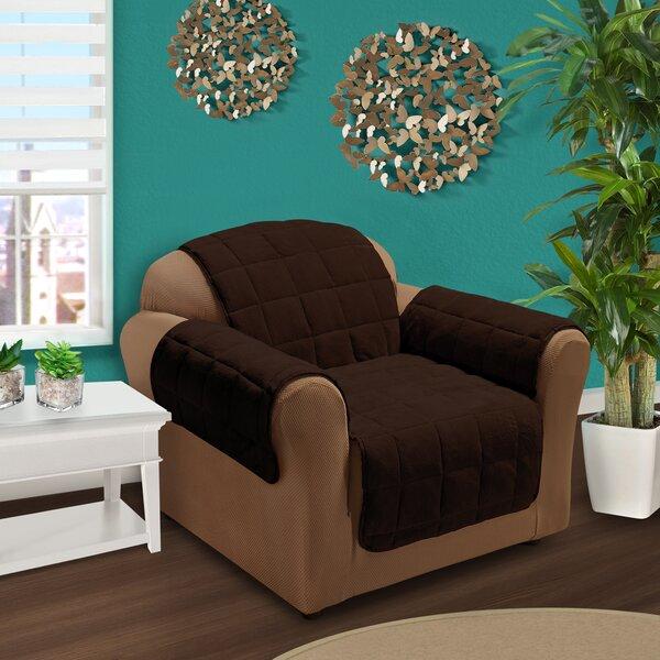 Burnham Box Cushion Armchair Slipcover By Red Barrel Studio