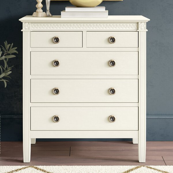 Brodnax 5 Drawer Chest by Greyleigh
