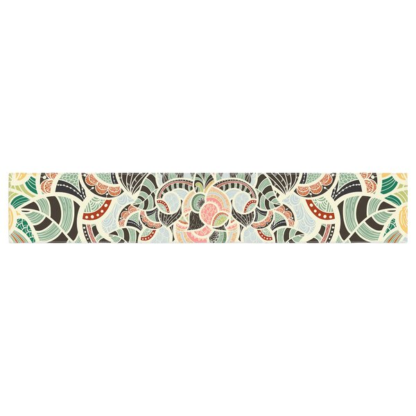 Danny Ivan Too Much Table Runner by East Urban Home