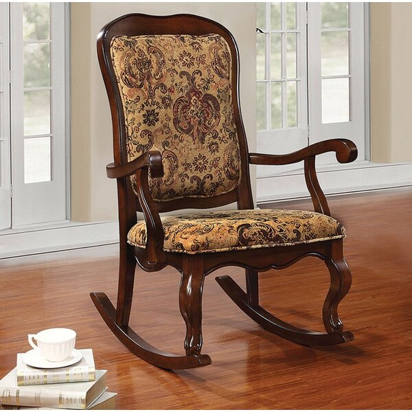 Lebow Rocking Chair by Astoria Grand