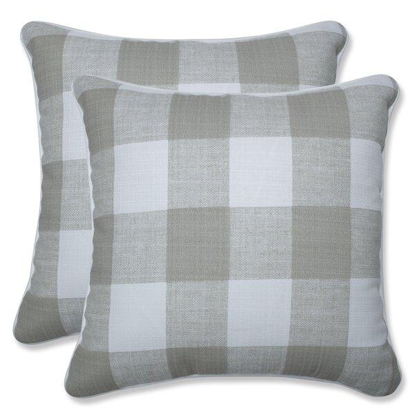 Lylah Indoor/Outdoor Throw Pillow (Set of 2)
