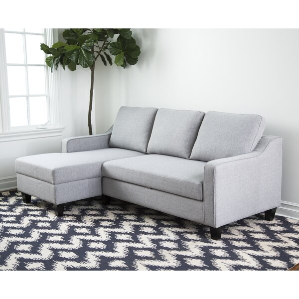 Nostrand Left Hand Facing Sleeper Sectional by Mercury Row