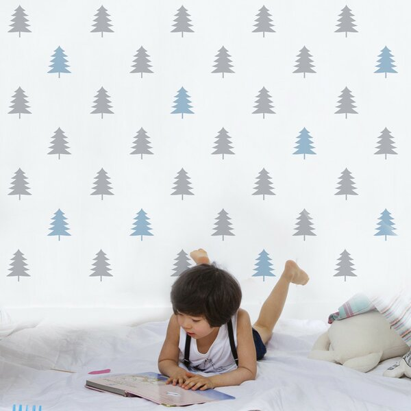 Gretchen Firs Wall Sticker/Decal by Harriet Bee