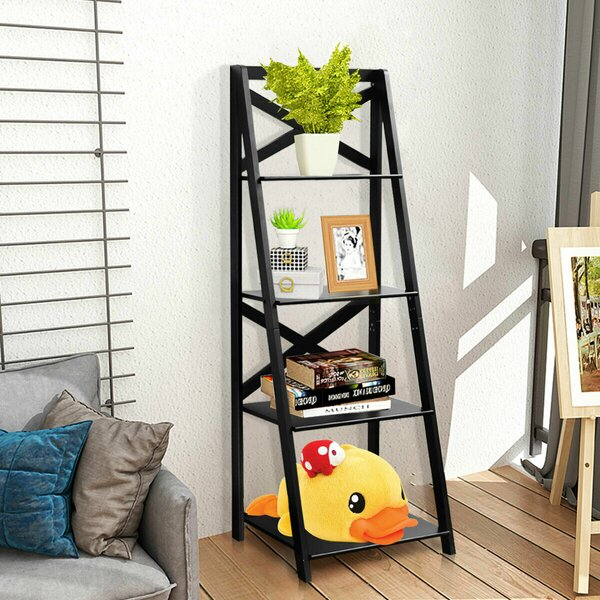 Rasheed Ladder Bookcase By Gracie Oaks