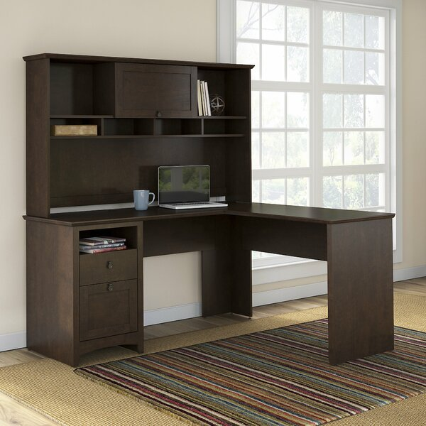 Fralick Executive Desk with Hutch by Darby Home Co