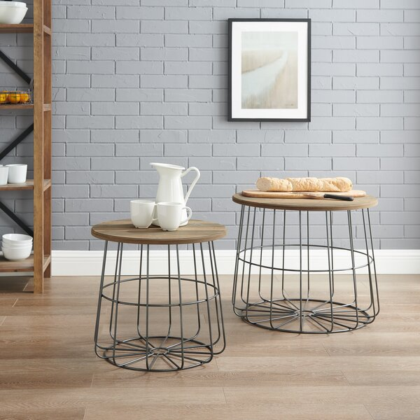 Plainfiel 2 Piece Nesting Tables By Williston Forge