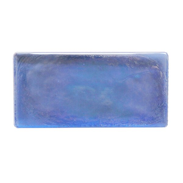 Atmosphere 2 x 4 Glass Mosaic Tile in Blue by Abolos