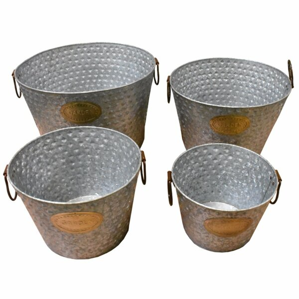 Brys Metal 4 Piece Beverage Tub Set by Gracie Oaks
