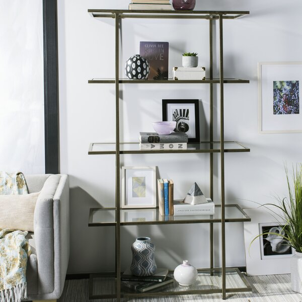 Gossett 5-Tier Etagere Bookcase by Ivy Bronx