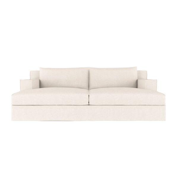 Check Price Letendre Vintage Leather Sleeper Sofa