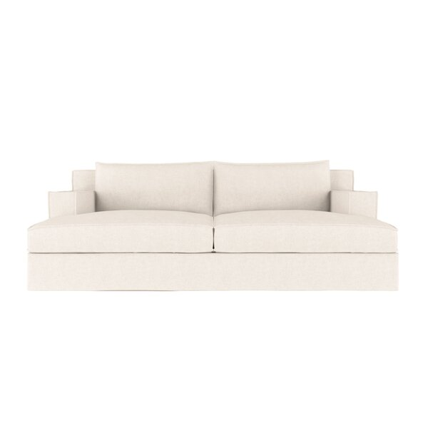 Up To 70% Off Letendre Vintage Leather Sleeper Sofa