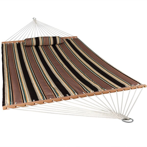 Crespo Polyester Double Speader Bar Hammock by Bloomsbury Market