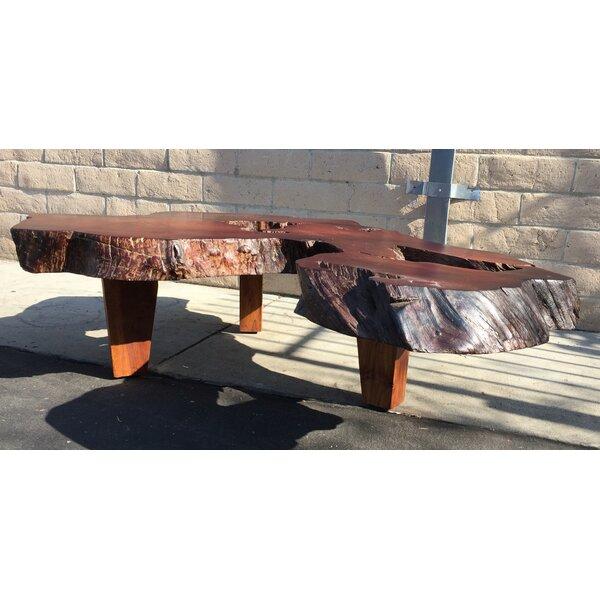Drayton Solid Wood 3 Legs Coffee Table by Loon Peak Loon Peak