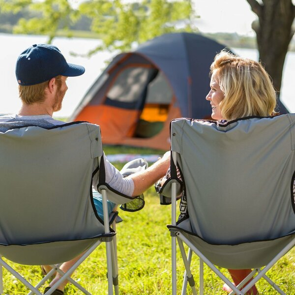 Quad Folding Camping Chair by Core Equipment Core Equipment