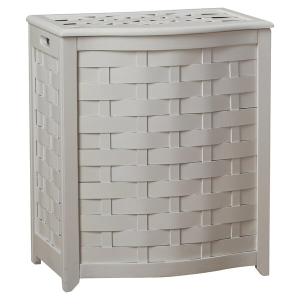 Bowed Front Laundry Hamper by Darby Home Co