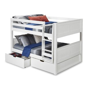 Shop For Oakwood Full over Full Bunk Bed with Storage ByHarriet Bee