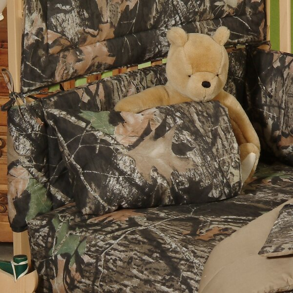 New Break Up Crib Sheet and Pillowcase (Set of 2) by Mossy Oak