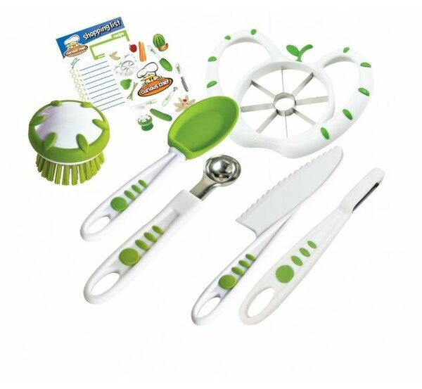6 Piece Fruit and Veggie Prep Kit by Curious Chef