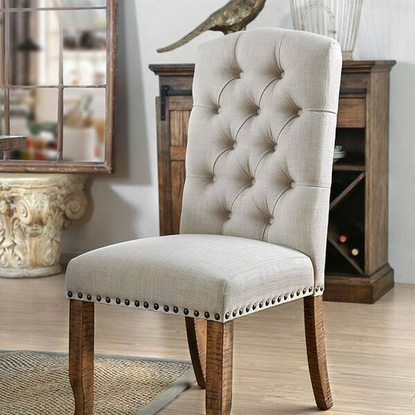 Reyes Upholstered Dining Chair (Set of 2) by Gracie Oaks