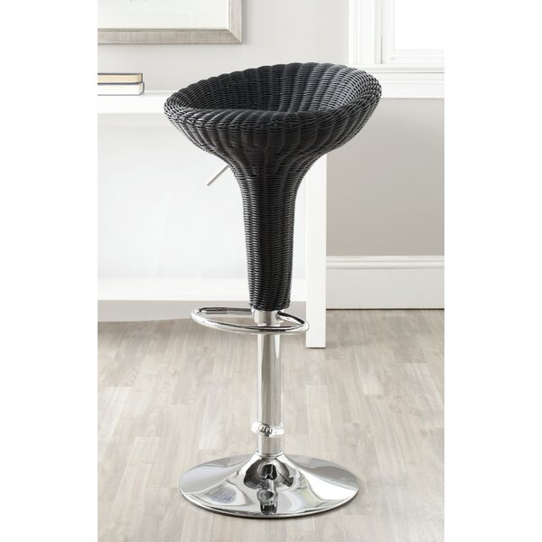 Winterburn 31.7'' Adjustable Height Swivel Bar Stool by Wrought Studio