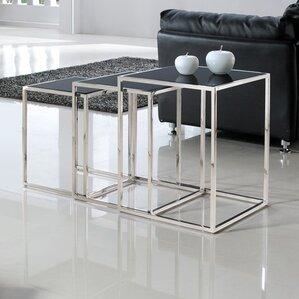 Quadra 3 Piece Nesting Tables by Armen Living