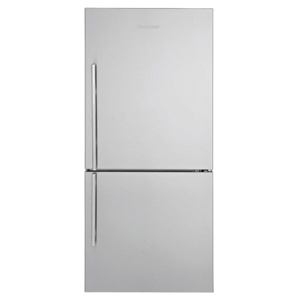 16.2 cu. ft. Energy Star Counter Depth Bottom Freezer Refrigerator by Blomberg